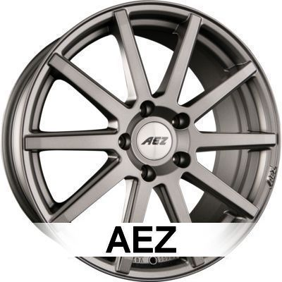 AEZ Straight Dark 8.5x19 ET18 5x120 72.6